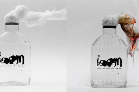 Cocktail, perfume y bomba molotov: la obra de un artista venezolano