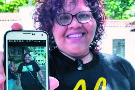Alejandra Sarmiento derribó la barrera de la obesidad