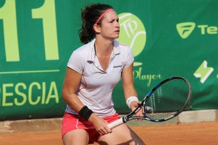 Andrea Gámiz finalista en dobles