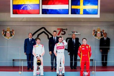 Venezolano Johnny Amadeus Cecotto celebró su primer podio en la Fórmula 2