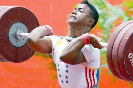 Pesista Keydomar Vallenilla subcampeón mundial Sub20