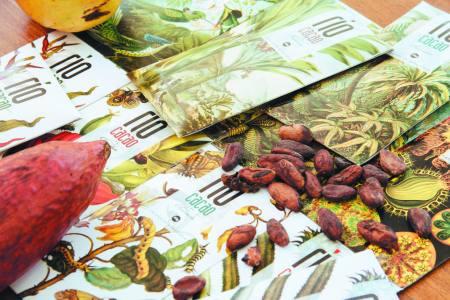 Chocolates en Río Caribe