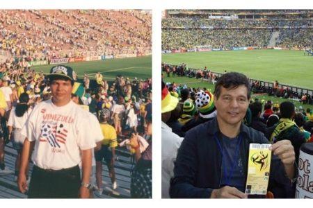 Un venezolano obtuvo el récord de más asistencia a un estadio durante un Mundial de Fútbol