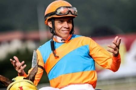 Emisael Jaramillo ganó tres carreras en Gulfstream Park