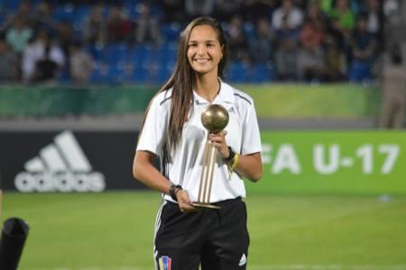 Deyna Castellanos en la élite: finalista al The Best 2017 de la FIFA