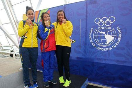 Atletas venezolanos brillan en Suramericanos de la Juventud