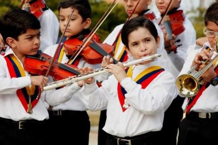 Francisco, el niño flautista de Maracaibo