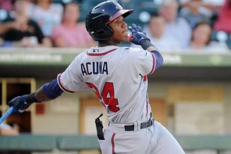 Acuña es el mejor prospecto para Baseball America