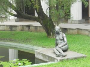 Escultura de Maragall