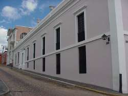 Casa donde se realizó el congreso de Angostura
