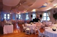 Banquet Setup - Rectangular Tables  Buffet-Style Party ...