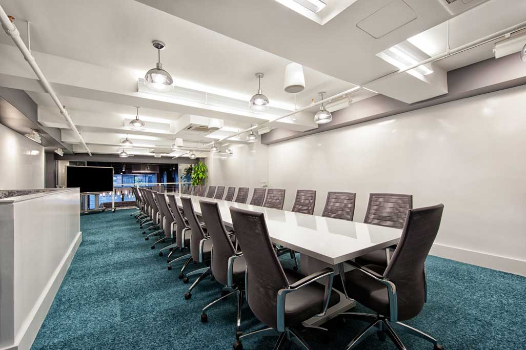 UltraModern HiTech Meeting and Event Venue  New York