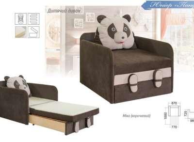 Панда детская мягкая мебель купить недорого Киев