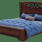 Беатрисс кровать А 160 белая (Висент)