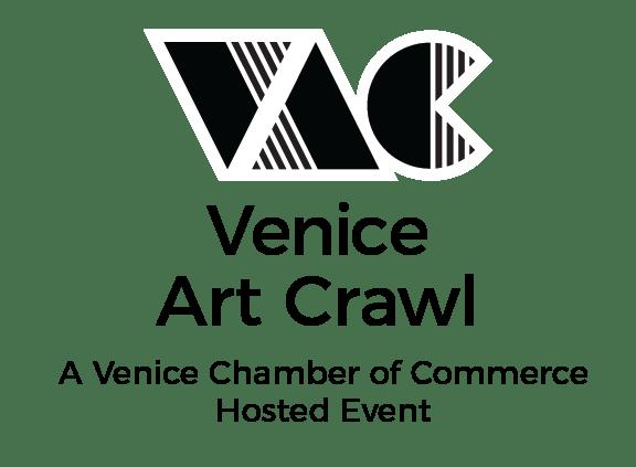 Venice Art Crawl Logo 1 Color/Mono