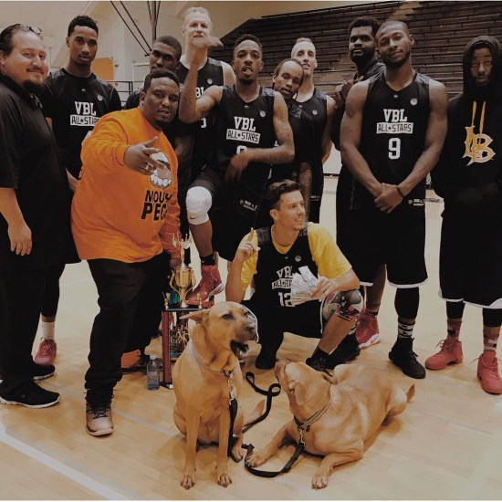 Cash out Sunday on #AllStarWeekend #VBLallstars Style We held it down 7-0 best of 16 teams that battled it out all weekend!! Thanks for the invite @the_hub_league . . . #vbl #gameneverstops #veniceball #allstars #cashingout #proam #blessings #weballeverywhere