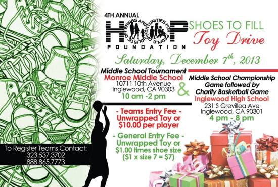 Toy Drive Flyer 2013
