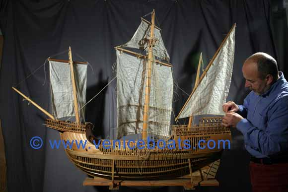 Gilberto Penzo  Barche e navi veneziane  Modelli  Navi