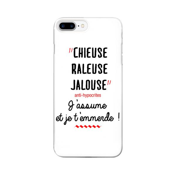 COQUE IPHONE CHIEUSE, RALEUSE, JALOUSE..