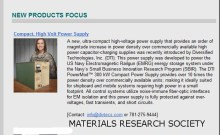 Diversified Tech- Material Research May 2015
