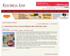 Diversified Technologies-Electrical Line