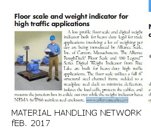Alliance- Material Handling Network Feb. 2017