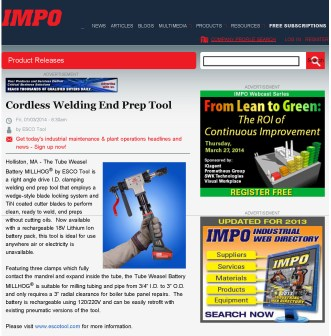 ESCO Cordless Welding End Prep Tool_Page_1