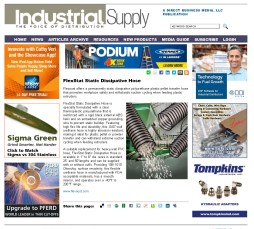 FlexStat Static Dissipative Hose - Industrial Supply Magazine