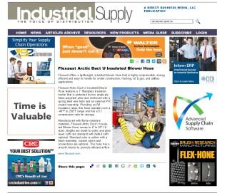 Flexaust Arctic Duct U Insulated Blower Hose - Industrial Supply Magazine