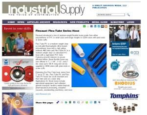 Flexaust Flex-Tube Series Hose - Industrial Supply Magazine