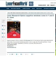 Laser Research- Laser Focus World