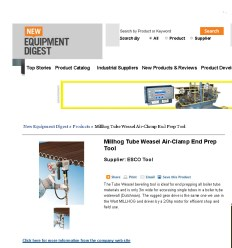 Millhog Tube Weasel Air-Clamp End Prep Tool _ New Equipment Digest Online Buyer's Guide _ New Equipment Digest_Page_1