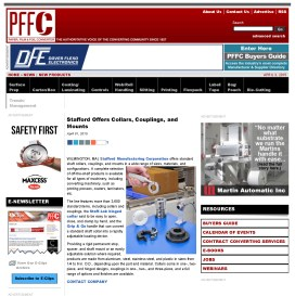 Stafford Offers Collars, Couplings, and Mounts - Paper, Film & Foil Converte_Page_1