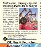 Stafford- Oil Gas & Petrochem Equipment - December 2013