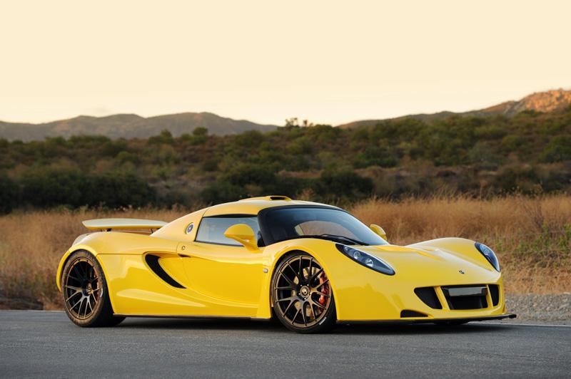 Yellow Venom GT P4 | Hennessey Venom GT