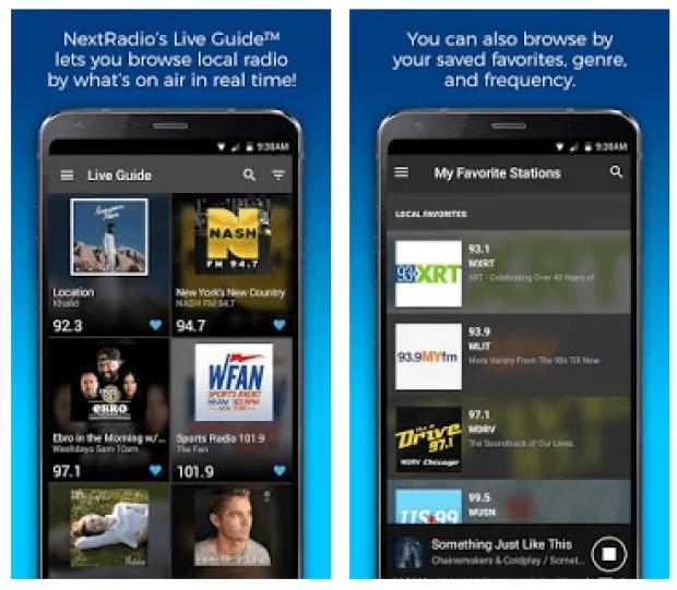 nextradio fm radio without internet