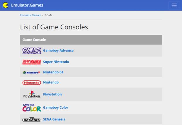 Emulator.games best Safe ROM Sites