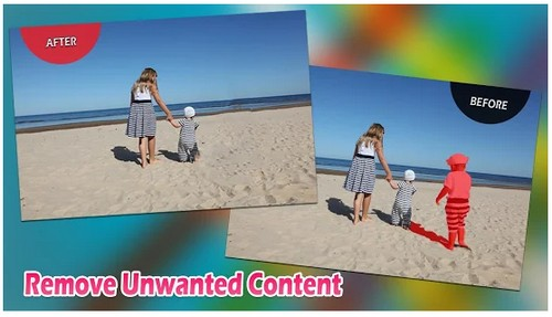 Remove Unwanted Content for Touch Retouch