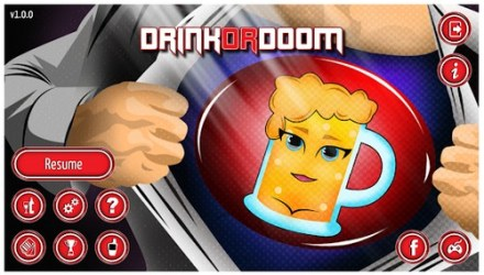 drink droom drinking game for adult