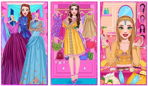 Sophie Fashionista - Dress Up Game