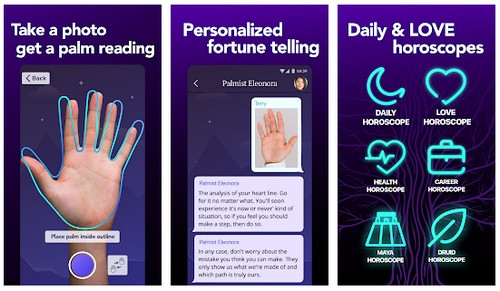 Fortunescope Live Palm Reader
