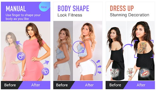 Body editor for body shaping