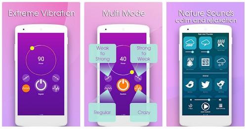 Massager Vibration App Strong Vibrator 4 Relax