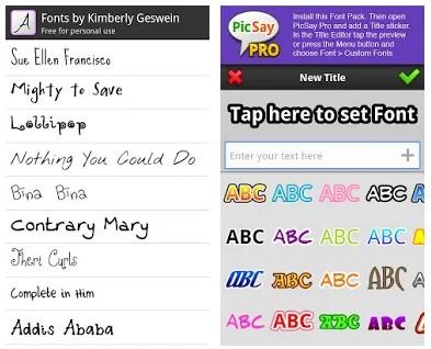 PicSay Pro Font Pack