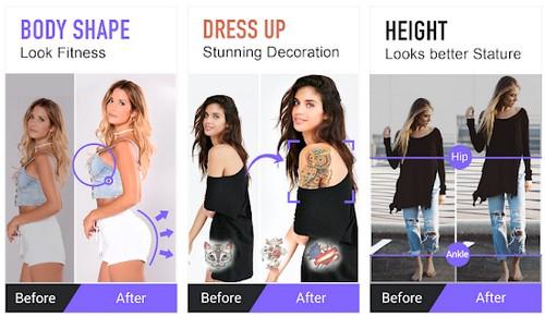 Body Editor Body Shape Editor Slim Face Body