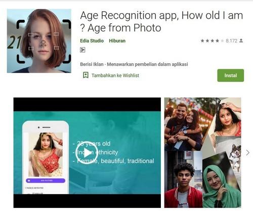 Age Recognition App