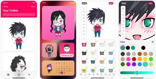 ChibiStudio Full body anime avatar creator app