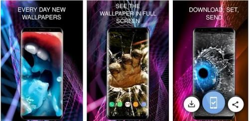 Wallpaper 3D screen saver app