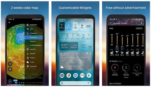 Weather Widget Weawow app