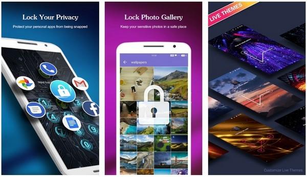 AppLock - Fingerprint Password Gallery Locker